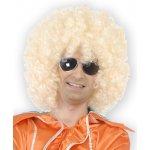 Pánská paruka mega afro blond mega huge