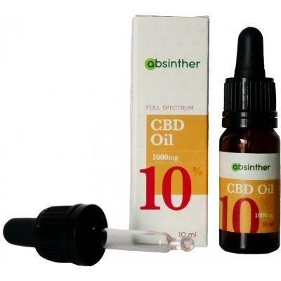 Absinther CBD olej 10% 10 ml - 3 ks