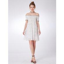 Ever-Pretty krátké letní šaty s puntíky 5987 157418d9303
