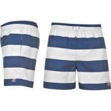 SoulCal Stripe Swim shorts Mens Brt Blue/White