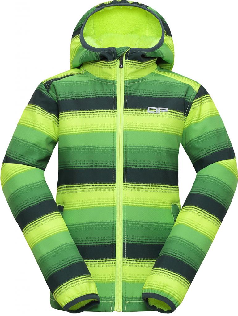 Alpine Pro dětská softshellová bunda Roro žluto-zelená od 699 Kč -  Heureka.cz 27a72b1a4e