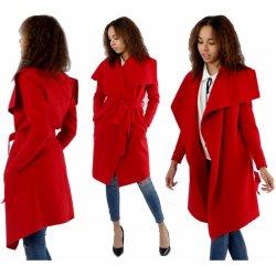 9cc271974f0 Fashionweek Módní dámský kabát Waterfall Maxi P02 Červená od 699 Kč ...