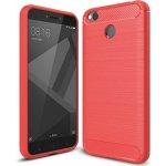 Odolný Silikonový obal pro Xiaomi Redmi 4X Global - karbon