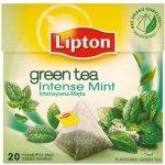Lipton Intense Mint zelený aromatizovaný čaj 20 sáčků 32 g
