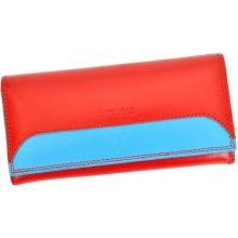 Harvey Miller Polo Club COL8 PL11 dámská kožená peněženka červená