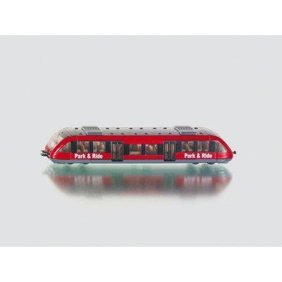 Siku Příměstský vlak S Bahn model 1646 Červená 1:120