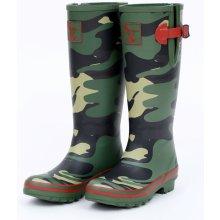 Dámské holinky Evercreatures Camouflage maskáč