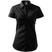 Adler Dámská košile s krátkým rukávem Chic - Černá