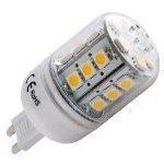 forever light LED žárovka,24×SMD5050 G9,5W,370Lm studená bílá