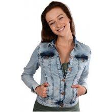 Cars Jeans dámská modrá džínová bunda Audrej/Marilyn Bleach35205