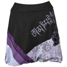 Sanu Babu krátká balonová sukně s potiskem fialová cbe72c7c87
