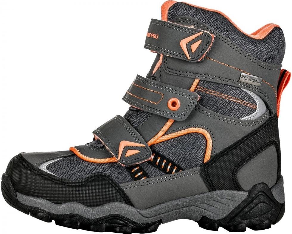 d80d5824091 Alpine Pro chlapecké zimní boty Hayley šedé