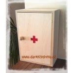 Lékárnička dřevěná 330x230x120 mm prázdná