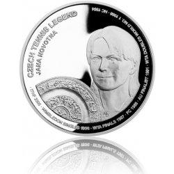 Česká mincovna Stříbrná mince České tenisové legendy - Jana Novotná proof 29 g
