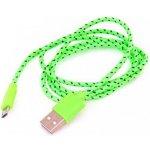 Omega OUFBCG Micro USB textilní zelený
