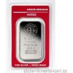Argor Heraeus Investiční stříbrná cihla 1 Oz