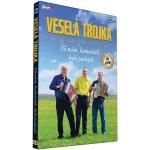 Veselá trojka Pavla Kršky - Už nám, kamarádi, bylo padesát DVD: CD