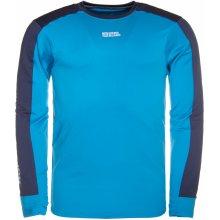 Nordblanc NBFMF5893 SLING azurová modrá pánské nordic tričko s dlouhým rukávem