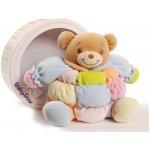 Baby Bow Barevný medvídek chrastící
