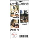 Egypt, Řím a Pompeje DVD