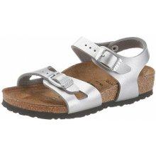 Birkenstock Sandály »Rio«, stříbrná