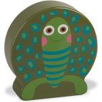 O-OOPS Easy-Sound Dřevěné chrastítko Turtle Cookie Želva
