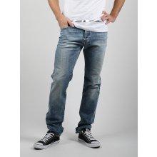 Džíny Diesel Buster Pantaloni Modrá