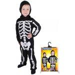 Kostým skeleton 2 ks