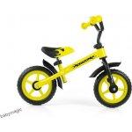 Milly Mally odrážedlo běhací kolo Dragon yellow s brzdou