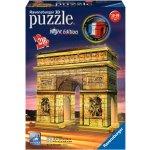Ravensburger 3D puzzle Noční edice Vítězný oblouk 216 dílků
