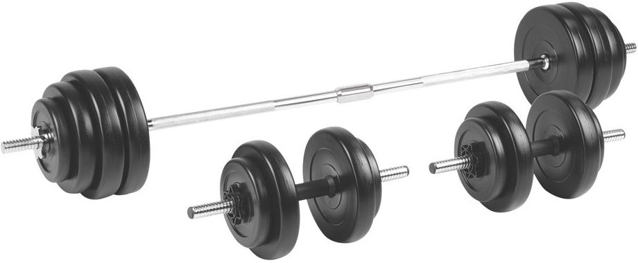 Recenze inSPORTline Činkový set BS208 3-50 kg