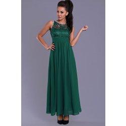 570d4a6cb2f9 Eva   Lola elegantní dlouhé plesové šaty zelená