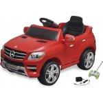 VidaXL elektrické dětské auto Mercedes Benz ML350 Red 6 V