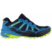 Karrimor Sabre Trail Mens Trail Running Shoes Blue/Lime