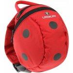 LittleLife batoh Animal Ladybird červený