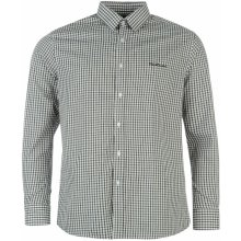 Pierre Cardin Long Sleeve Shirt Mens Blue Check