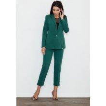 0b8291957922 Figl Dámské zelené kalhoty ke kotníkům M552ZI