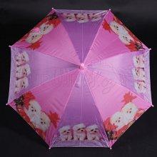 Vystřelovací dětský deštník Kara růžový
