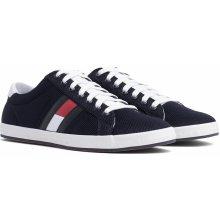 0a2e621547f Tommy Hilfiger modré pánské tenisky Essential Flag Detail Sneaker Midnight