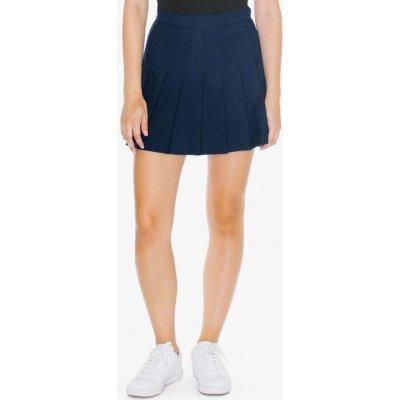 American Apparel dámská tenisová sukně GABARDINE patriot blue