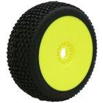 ProCircuit MARATHON medium/modrá směs Off-Road 1:8 Buggy gumy nalepené na žlutých diskách