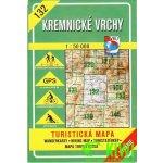 Kremnické vrchy 1:50 000 -- 132 Turistická mapa