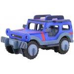 Robotime dřevěná skládačka Jeep + barvy a štětec