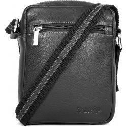 4a32f1a4c8 SendiDesign pánská kožená taška na doklady IG713 černá alternativy ...