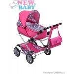 NEW BABY Dětský kočárek pro panenky 2v1 Růženka