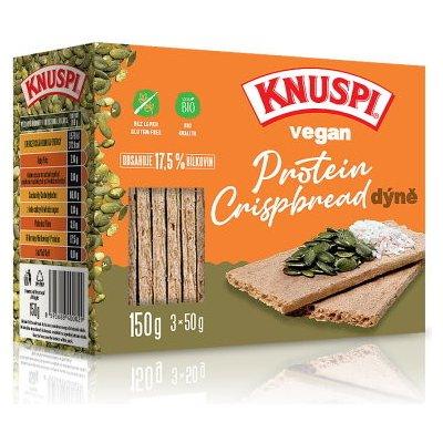 Prom-IN Knuspi Vegan Protein Crispbread 150 g Varianta: natural