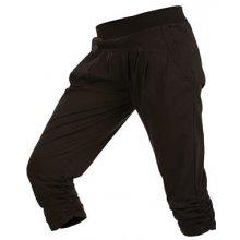 Litex kalhoty dámské v 3 4 délce 55248 901 černá 20fef8bf88