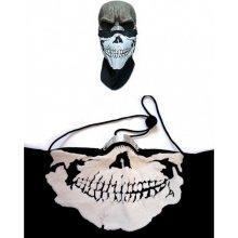 MTHDR Kerchief Skull Šátek na obličej černá bílá 38defc9580
