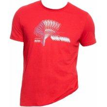 Hugo Boss triko Tee MK červené