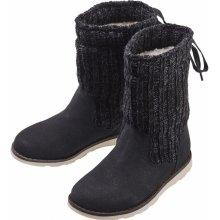 Pepperts dívčí zimní obuv černá pletené 082818566e